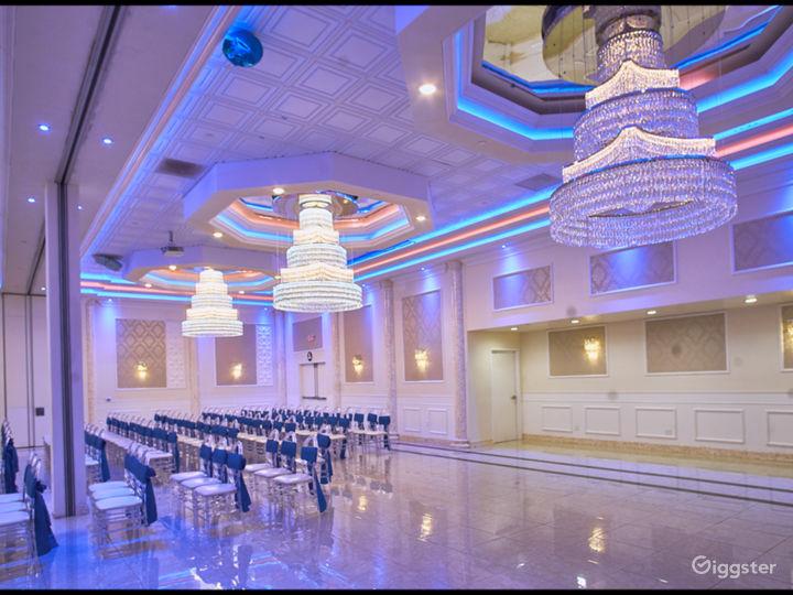 Colorful Ballroom in Newark Photo 2