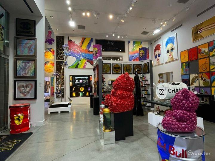 Spacious Fine Art Gallery in Las Vegas Photo 2