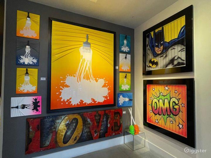 Spacious Fine Art Gallery in Las Vegas Photo 4