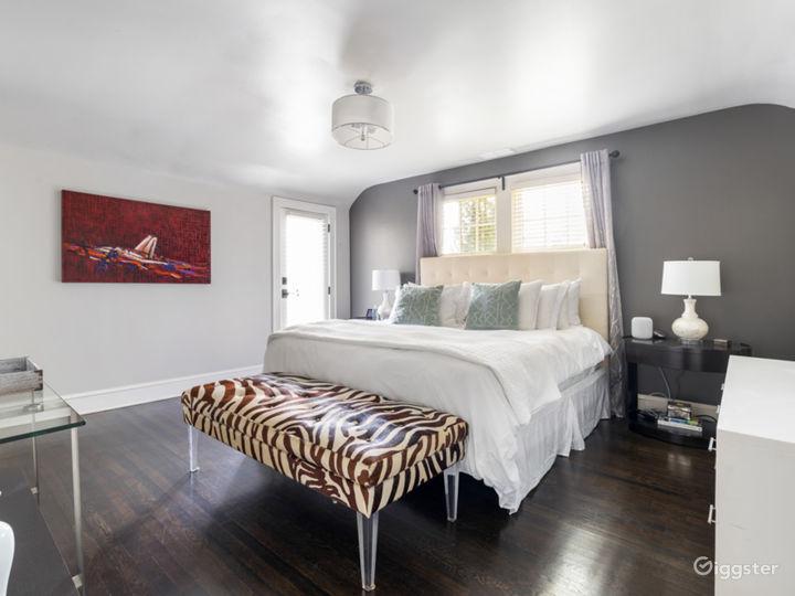 Master Bedroom with Outdoor Balcony