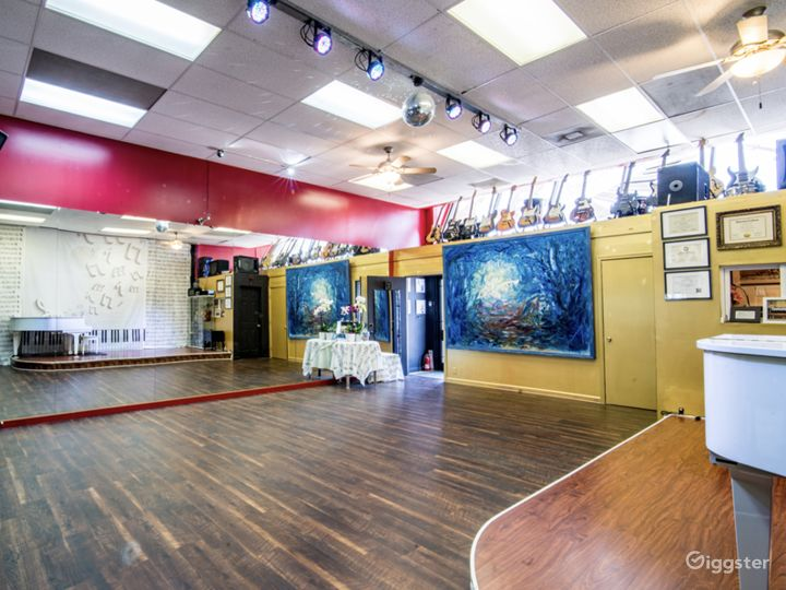 Open space to host your next party