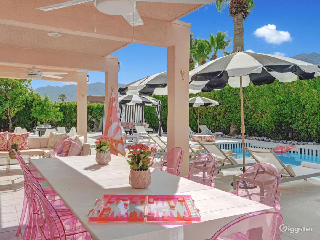 Mod Mirror Villa:  Glam Hollywood Regency estate Photo 3