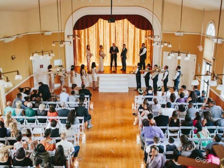 Elegant Wedding Ceremony At The Sanctuary Photo 2