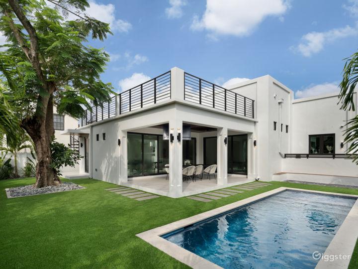 A Modern Miami Paradise