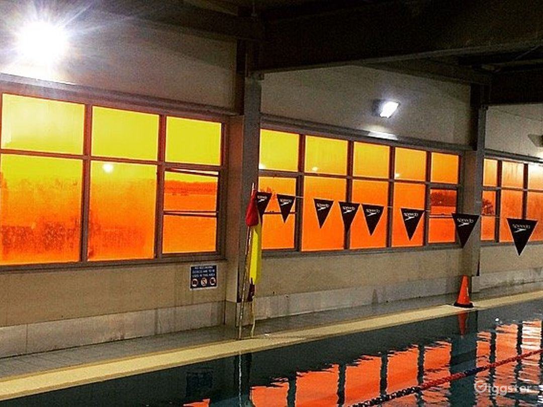 A 25M Indoor Pool for Fitness Activities Photo 1
