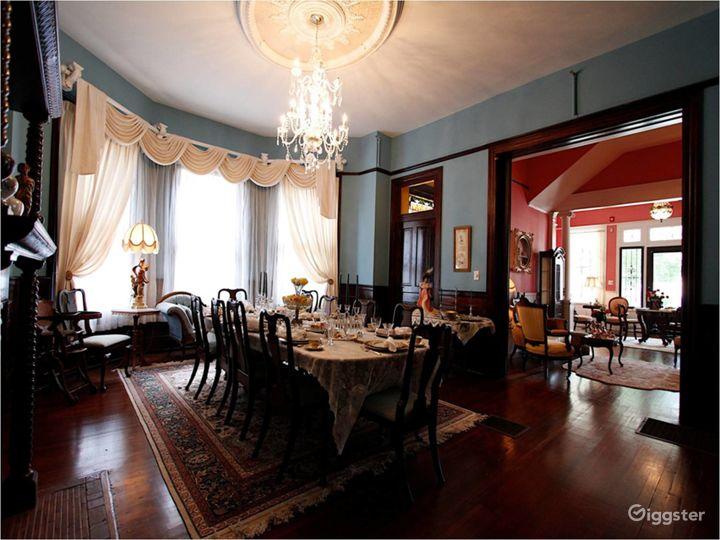 Hassinger Daniels Mansion BB Dining Room