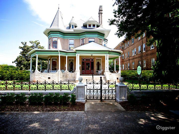 National Historic VICTORIAN QUEEN ANNE Mansion