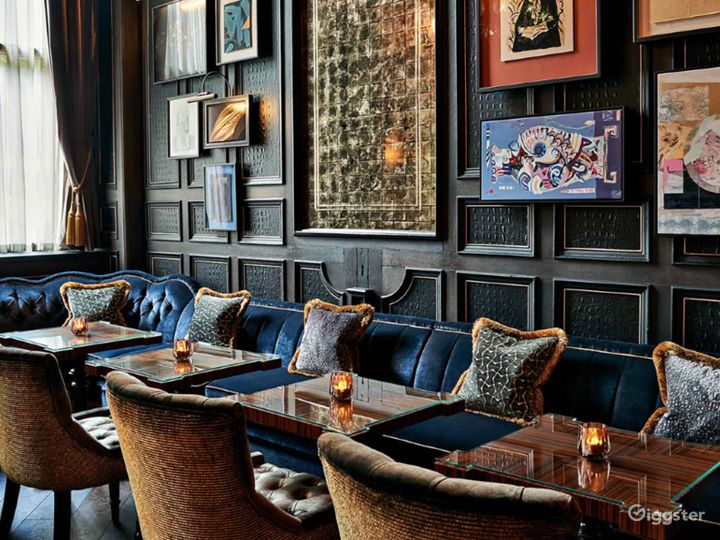 Glamorous Cocktail Bar in Bloomsbury, London  Photo 5