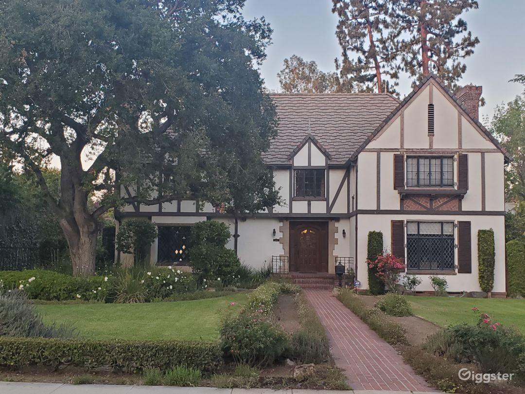 Gorgeous English Tudor House in Pasadena  Photo 1