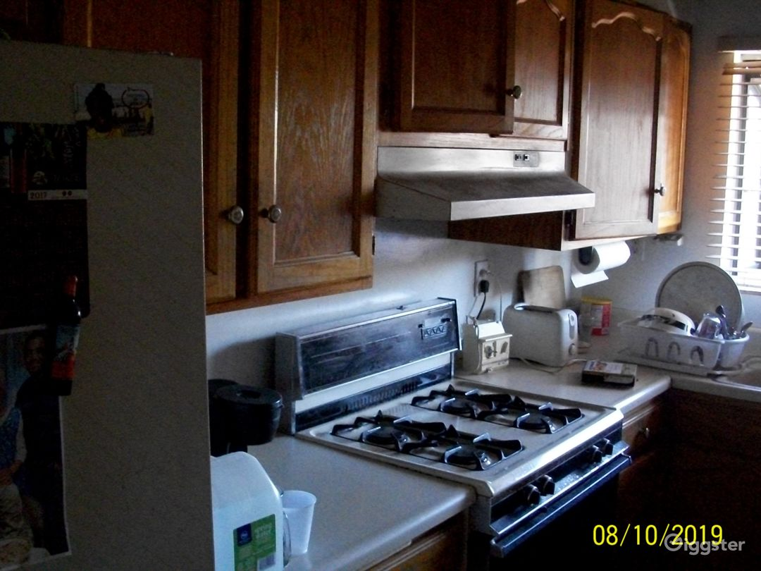 Homey, Suburban Kitchen