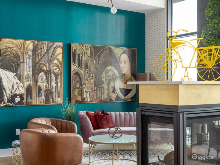 Alluringly Extravagant Buckhead Penthouse Photo 2