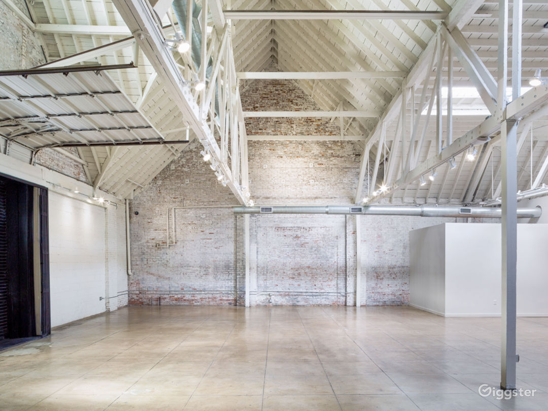 Vaulted ceilings  Honeypot Studio - HNYPT studio space for film shoots, photo shoots, private events in Downtown Los Angeles