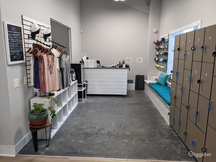 Small retail area.