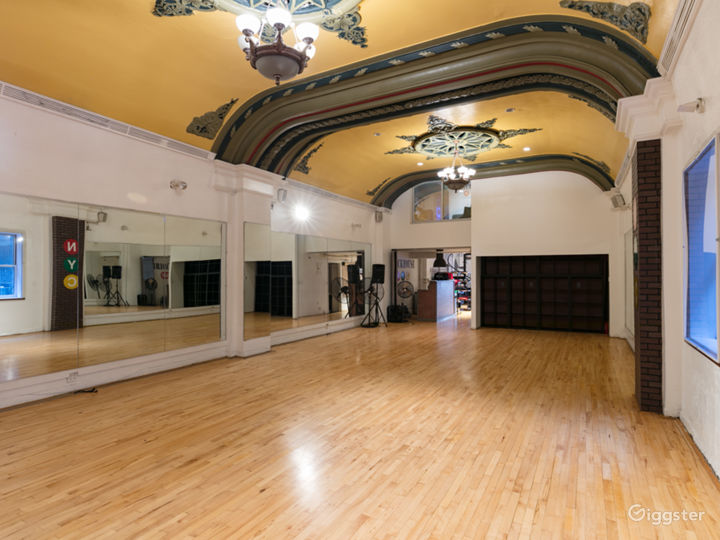 Dance Studio in the Heart of Times Square NY