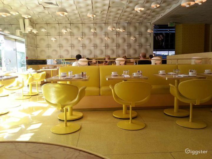 Atmospheric Yellow Style Restaurant Photo 4