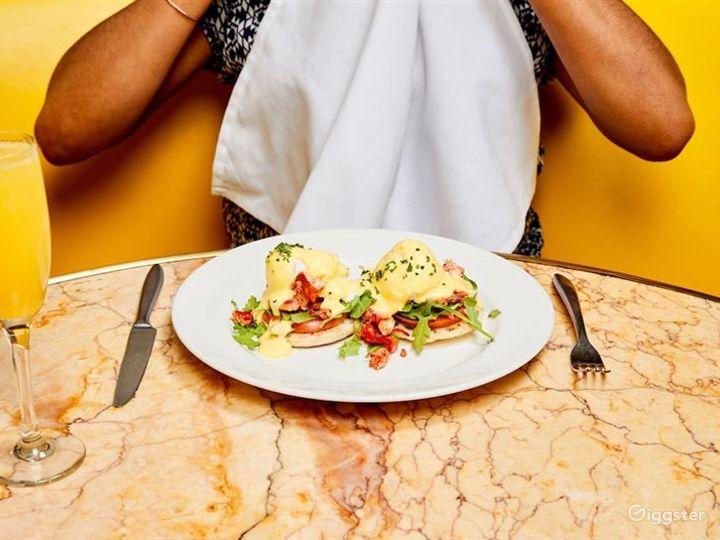 Atmospheric Yellow Style Restaurant Photo 3
