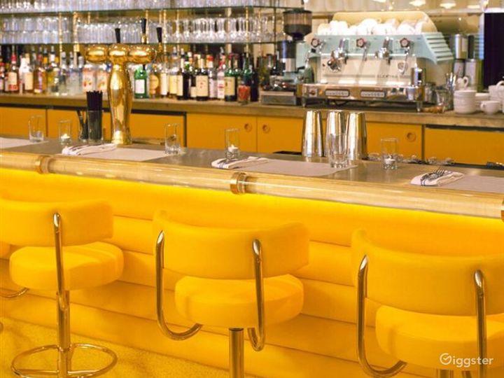 Atmospheric Yellow Style Restaurant Photo 2