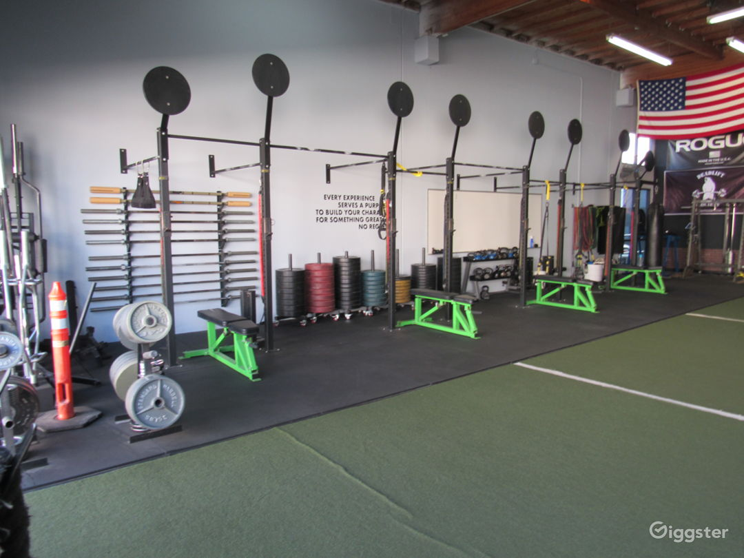 Light Industrial Gym Space Available  Photo 1