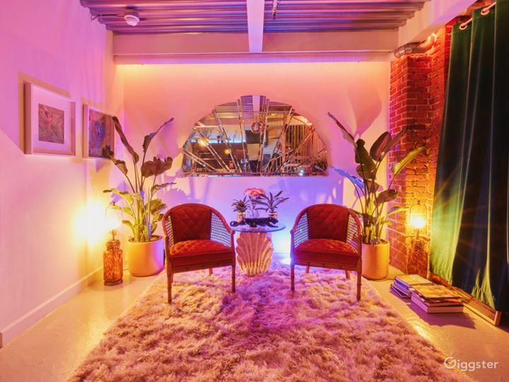 Funky & Bright Disco Jungle Loft & Studio Photo 5