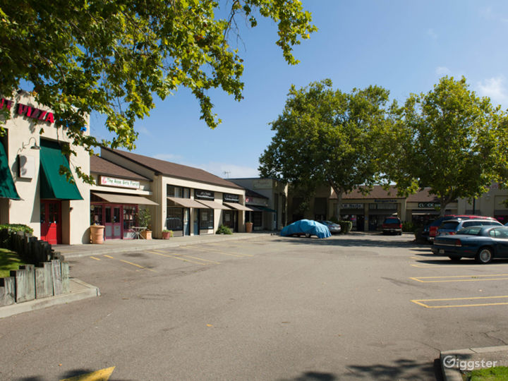 The Village Center.