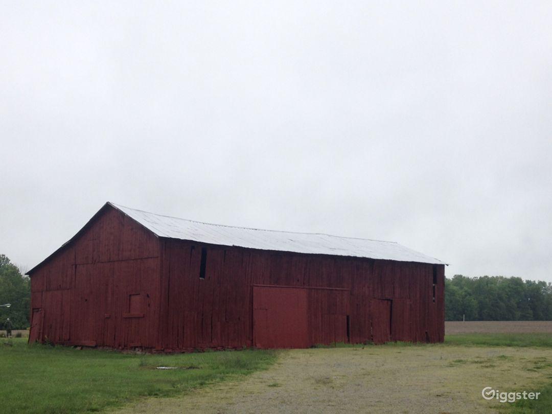 Rustic 1830s barn