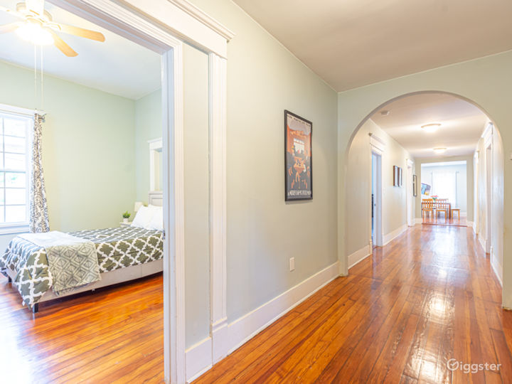 Four fully-appointed bedrooms are in Unit A.