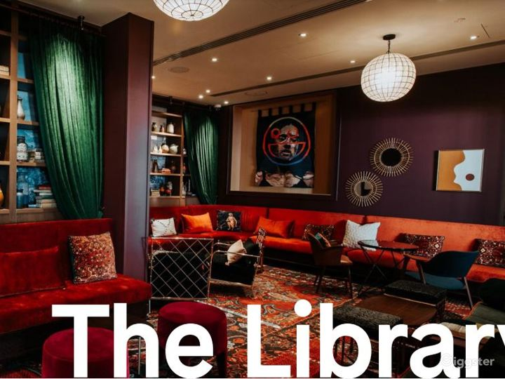 The Library - Mediterranean and Persian Setting Photo 3
