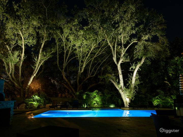 Miami chic home with big private yard