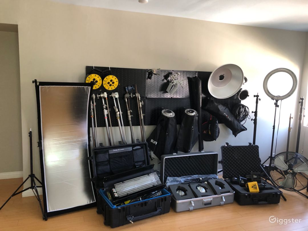 Gear available to rent for $50 per session.