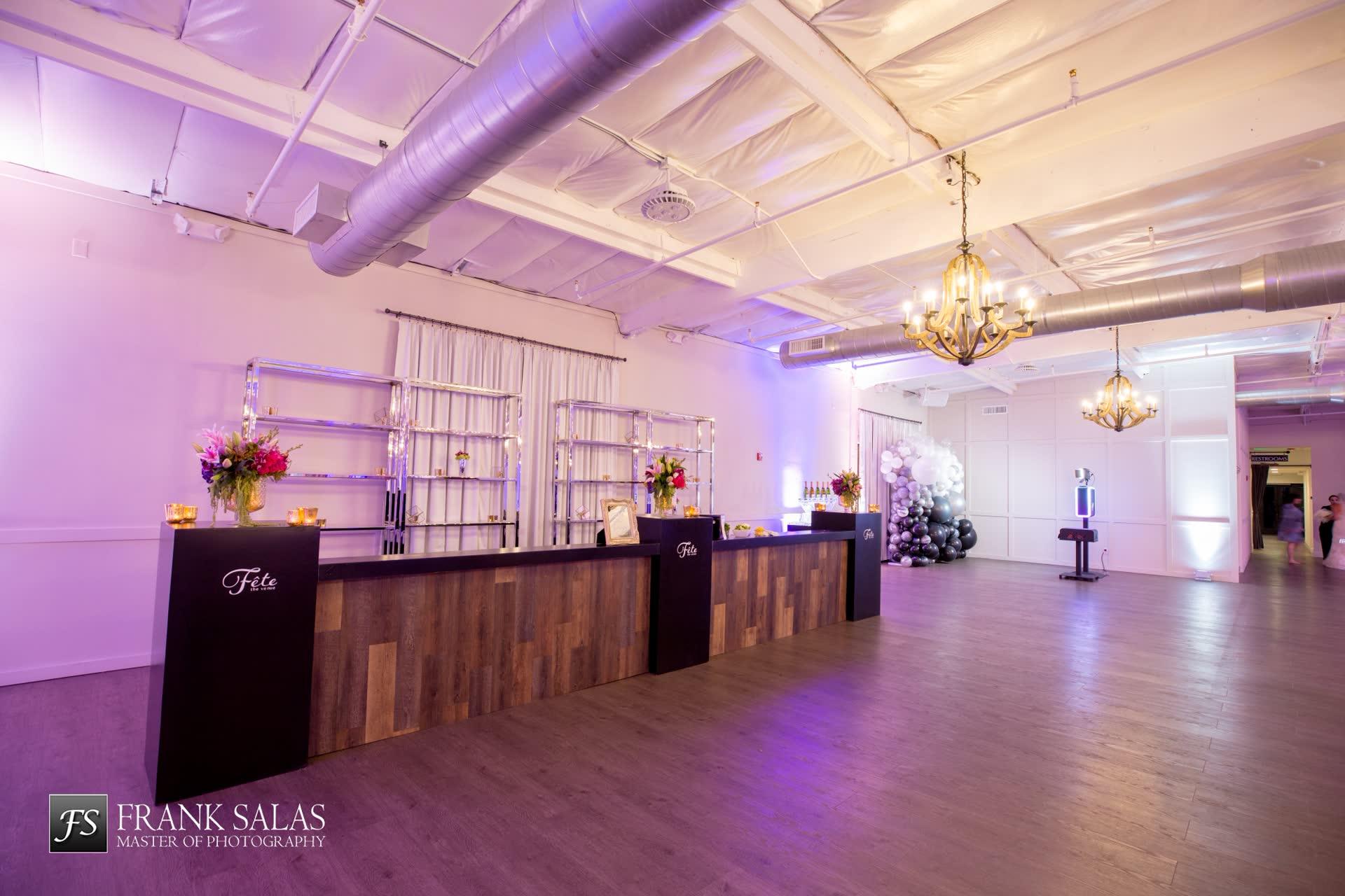 Wedding Reception spaces