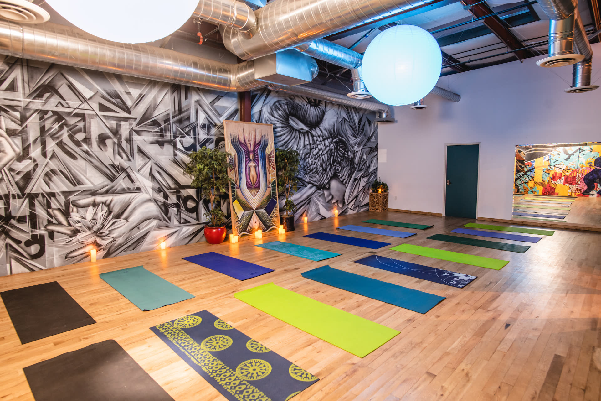 Yoga Studio spaces