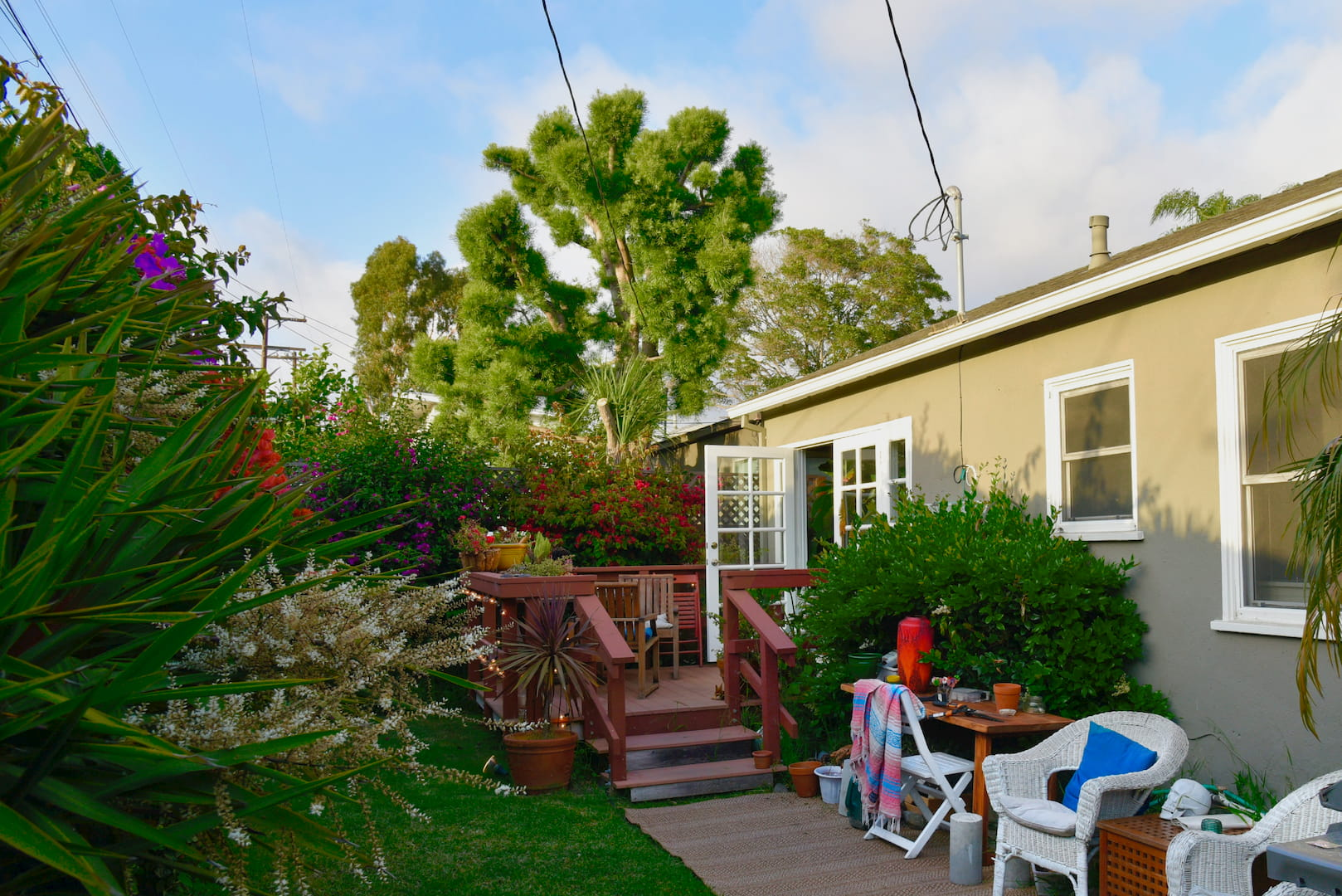 Affordable Venice Beach House with Tropical Plants (Los Angeles, CA)